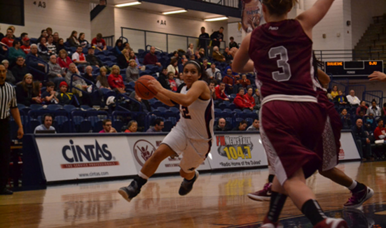 Duquesne women's basketball lose overtime thriller to St. Joseph's