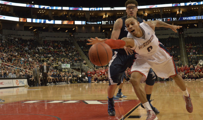 Dukes fall to Xavier in last Consol game of the season