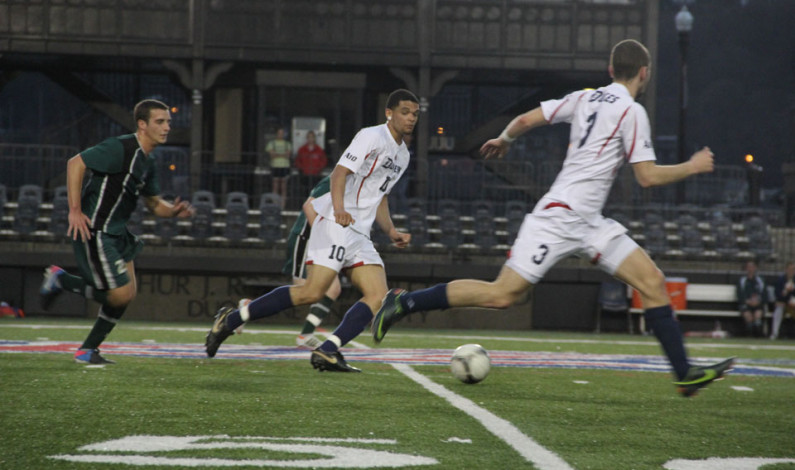 Dukes tie as Pantophlet transitions to soccer