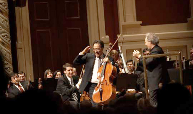 Yo-Yo Ma, PSO enchant Heinz Hall