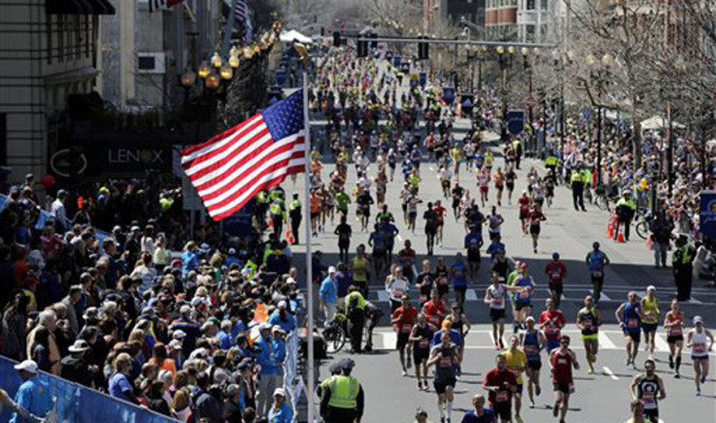 Local runners race in Boston Marathon