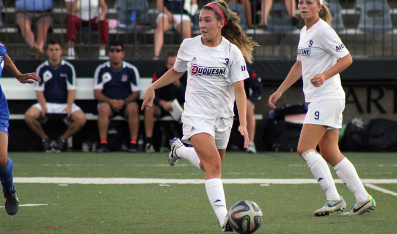 Women's soccer falls to Cincinnati 3-2 at home