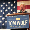 As election nears, Clinton endorses Wolf