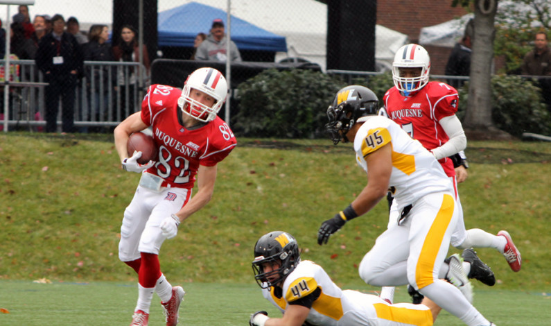 Dukes roll over W. Liberty in Homecoming game