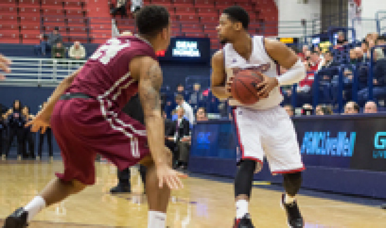 Men's basketball wins conference home opener over Saint Joseph's