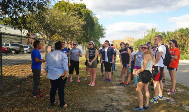 Students serve, learn on mission trips over break