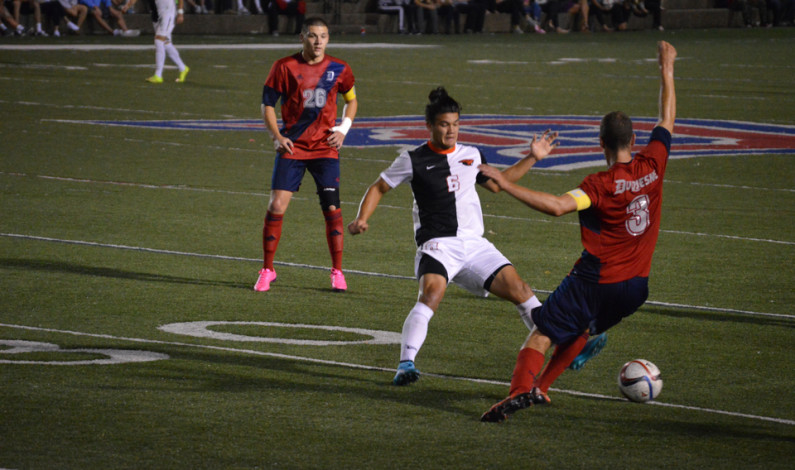 Men's soccer falls to Cleveland State 1-0 at Rooney