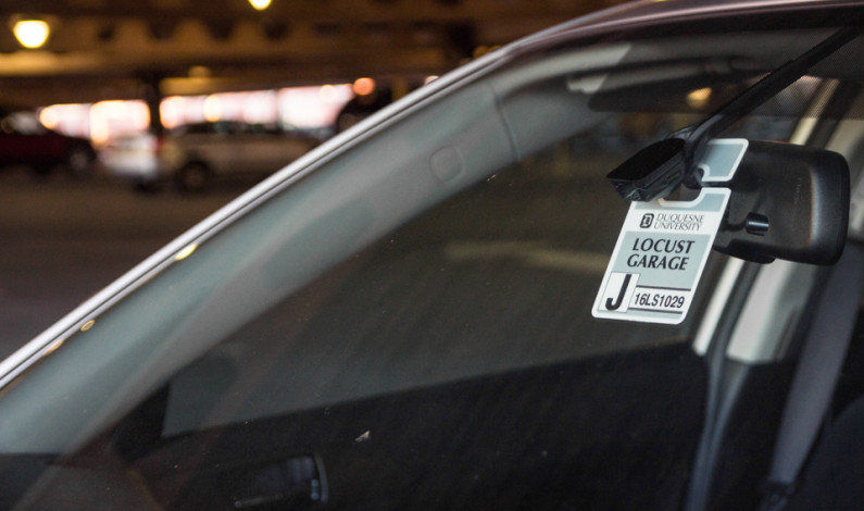 Commuters protest late night parking fines