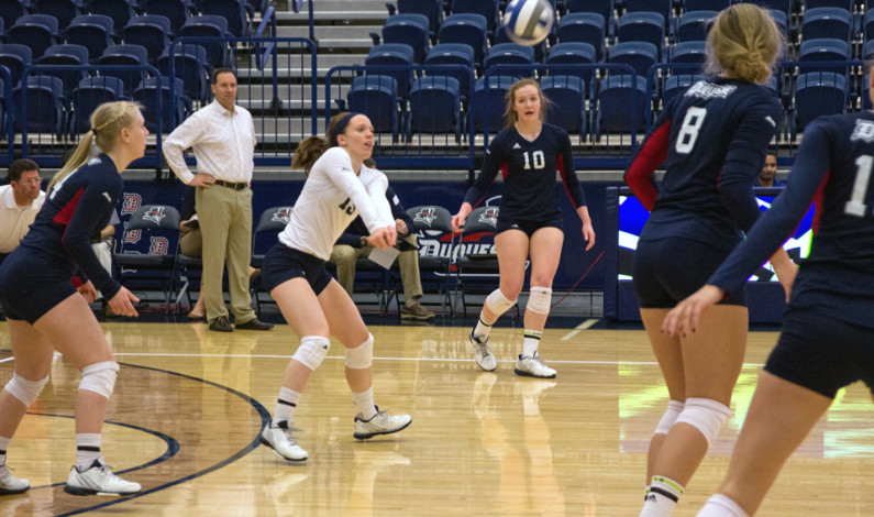 Volleyball drops second straight conference game of 2015 season