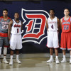 Men's basketball unveils four new looks for 2015-16 season
