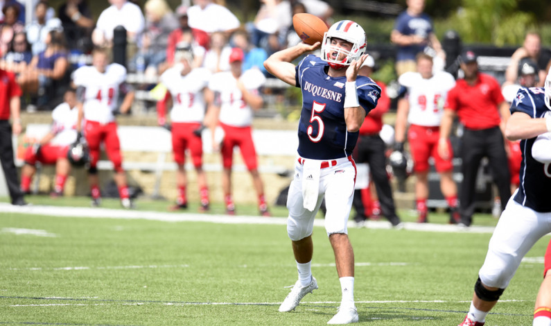 Starting QB Buechel taking nothing for granted