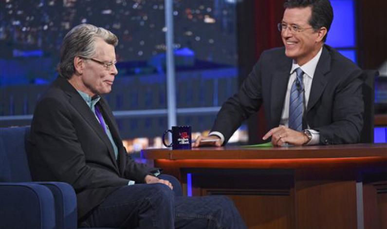 New Stephen Colbert leaves 'Report' behind