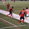 Men's soccer drops first A-10 matchup of season