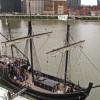 Land ho! Recreation Nina and Pinta dock in Pittsburgh
