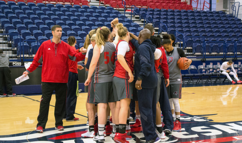 Women's hoops aiming for NCAA tourney berth