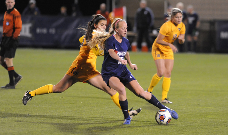 Women's soccer still upbeat after tourney loss