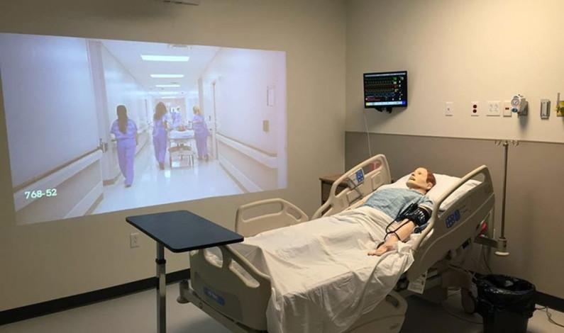 Nursing school unveils simulation center