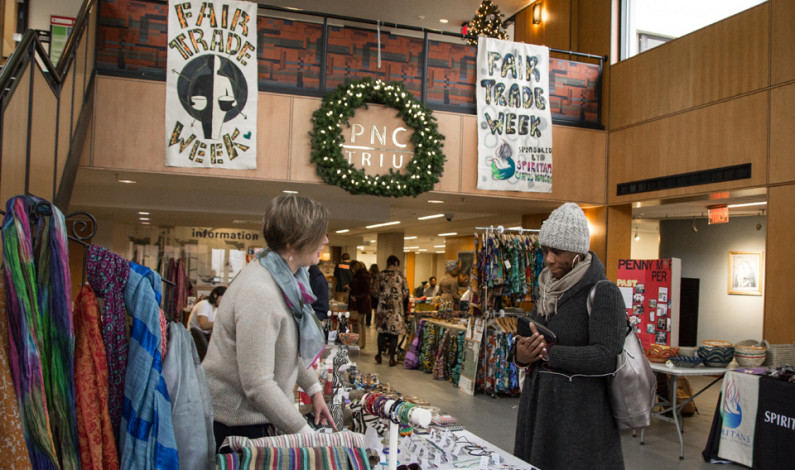 Campus Ministry embraces global fair trade