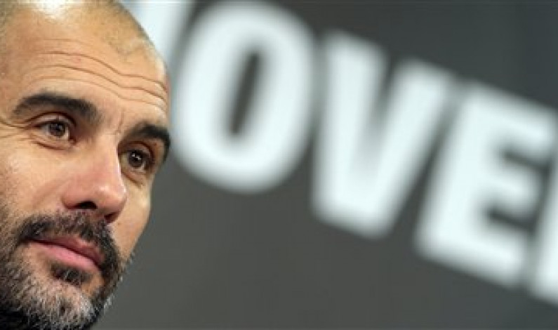 Pep Guardiola to manage Manchester City next season