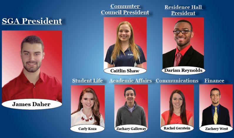 New SGA board hopes to raise student involvement