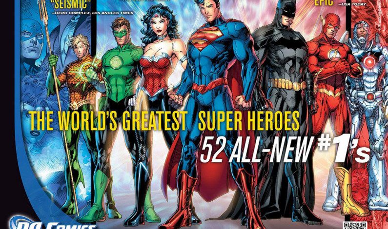 DC Comics rebooting universe … again