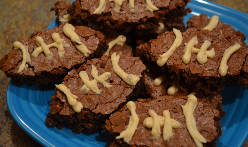 Super Bowl Snackin': Come up clutch with football brownies