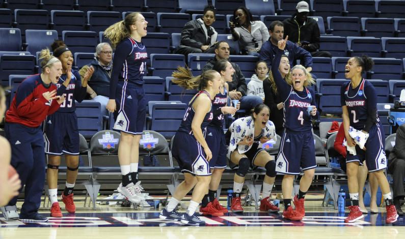 WBB tops Seton Hall, advances to second round of NCAA Tournament