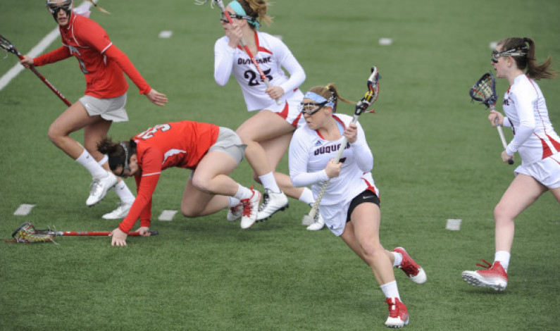 Lib Lowry excelling both on, off the lacrosse pitch