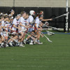 Women's lacrosse wins big in first conference game of season