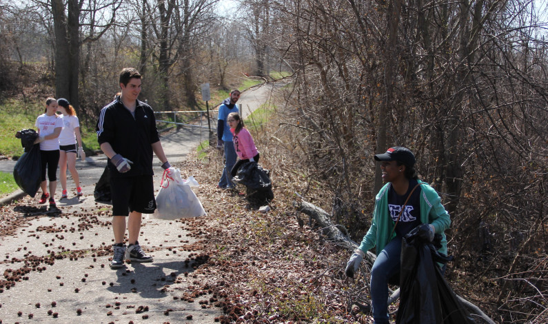 DU gives back with annual spring cleanup