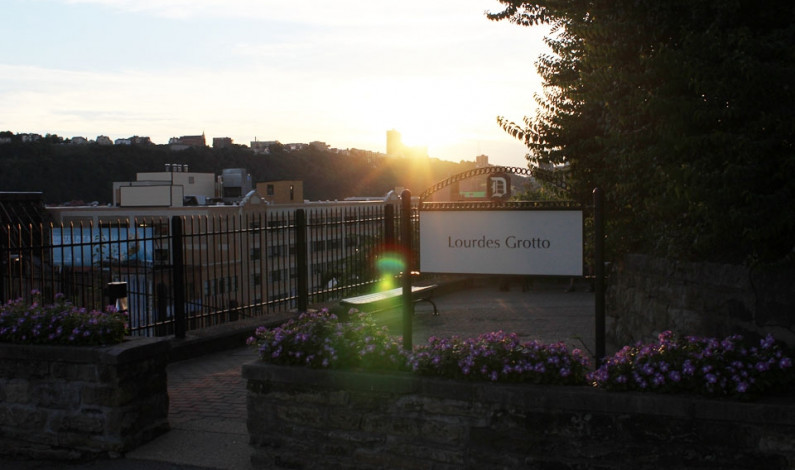 French connections: The Lourdes Grotto