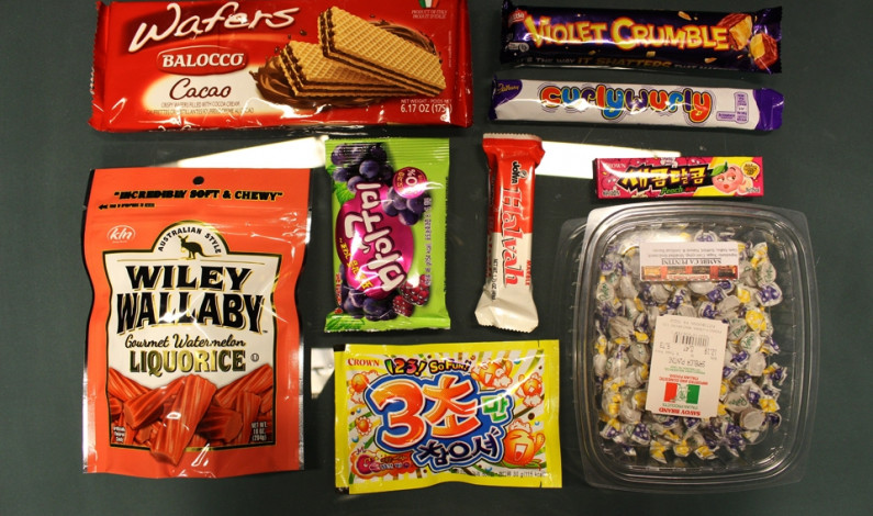 The Duke Dabbles in worldly treats and international candy