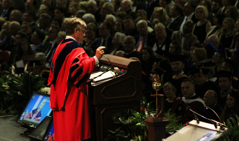 President Gormley's inauguration by the numbers