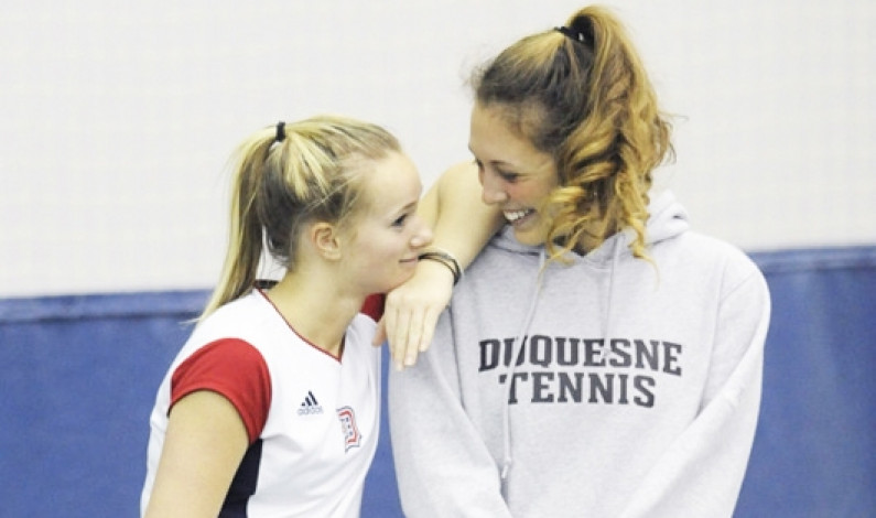 Steiner poised to put Duquesne tennis on the map