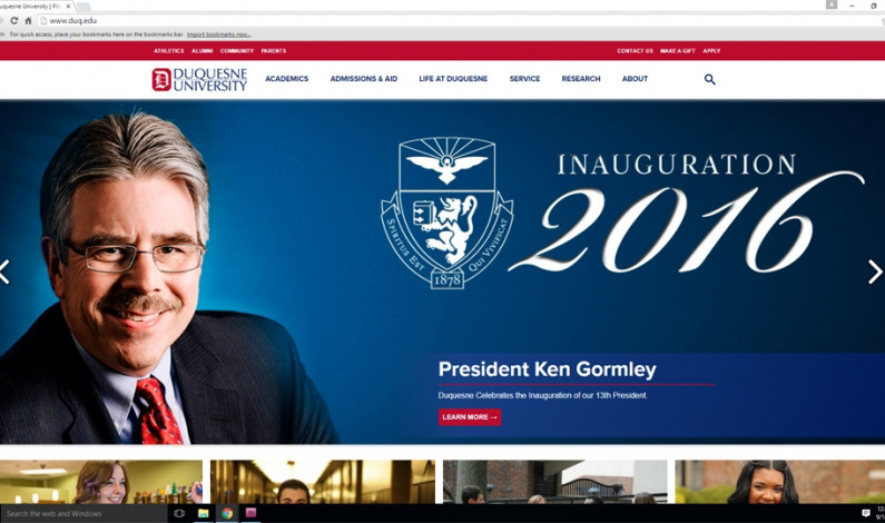 Duquesne website gets new, mobile-friendly look