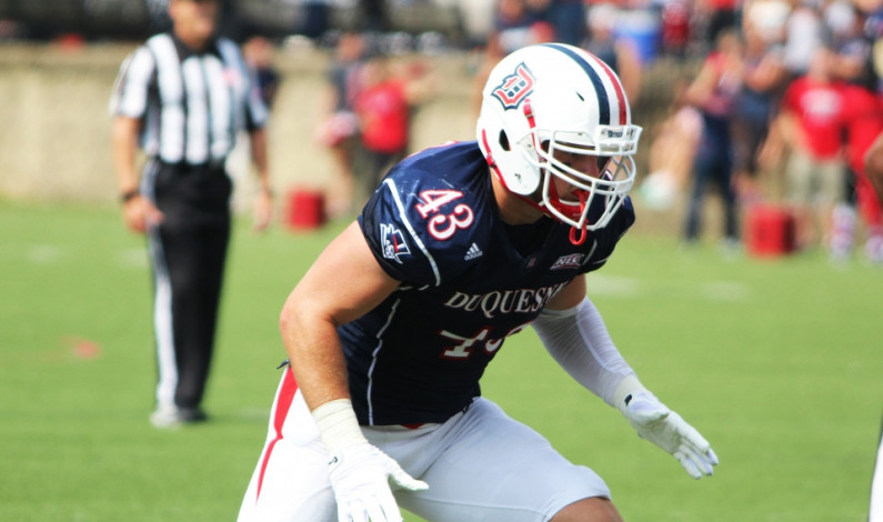 Duquesne FB senior class rewrites records on Senior Day