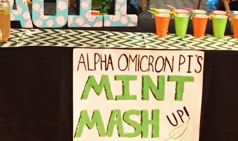 Greek Life hosts 'Mocktail' competiton for Alcohol Awareness Week