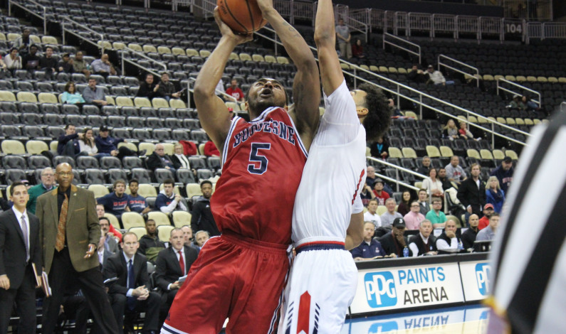 After earning big win over Pitt, Dukes suffer tough loss to RMU