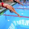 Dukes' swim team bests Saint Francis on Senior Day