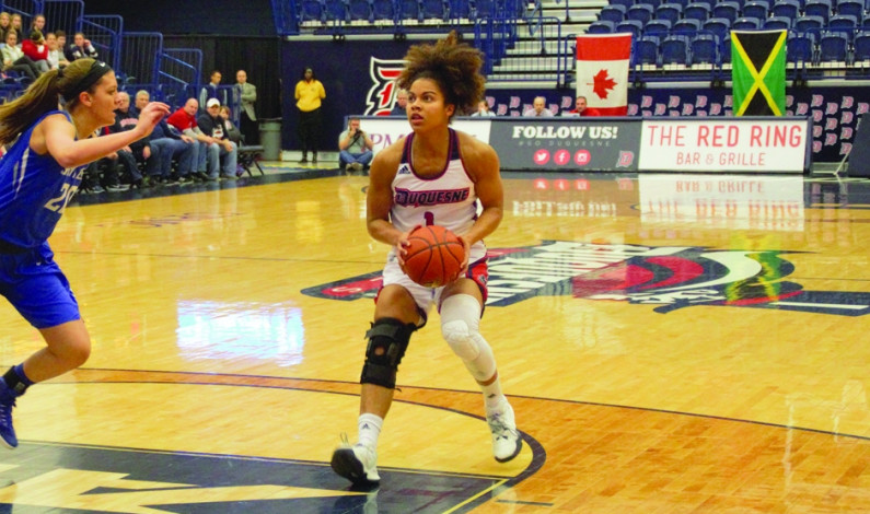Duquesne women rout preseason favorite Saint Louis 94-65