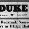 A dip into The Duke archives: January 12, 1962