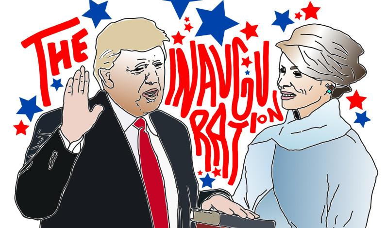 Trump inaugurated 45th U.S. President