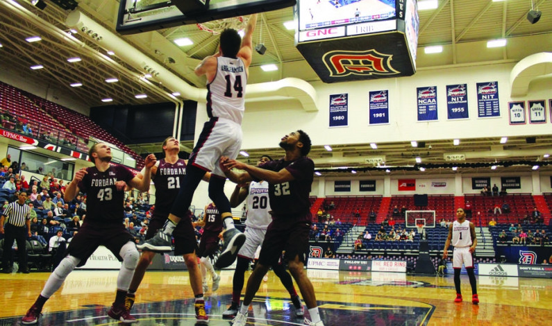 Fordham MBB cruises past Duquesne 70-52