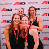 Swimming places second at A-10 Championships