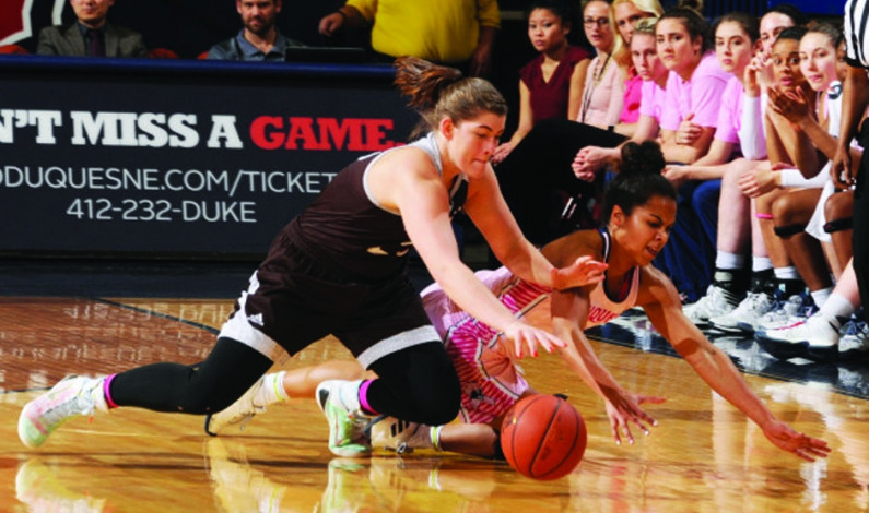DU WBB displays depth in regular season finale