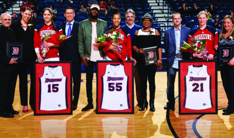 Senior night signals go-time for Duquesne WBB