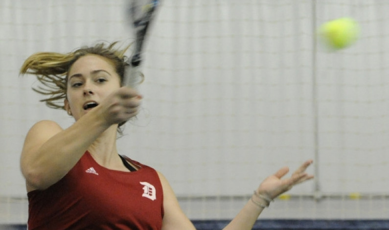 Duquesne women's tennis falls to Pitt, defeats Saint Joe's