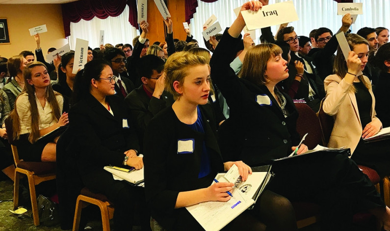 Duquesne Model UN hosts high school competition