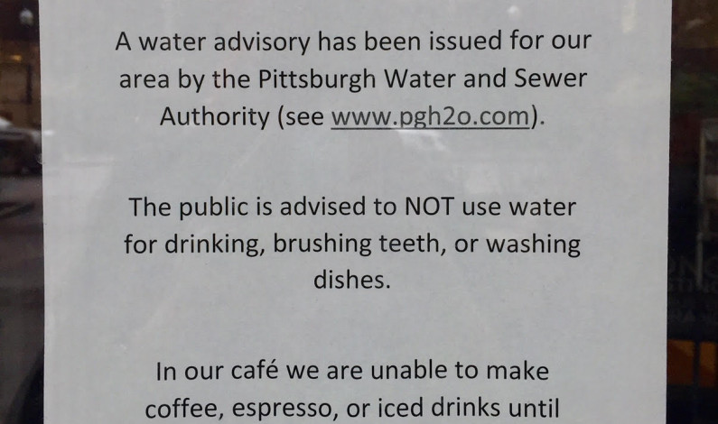 Campus dining locations respond to water advisory