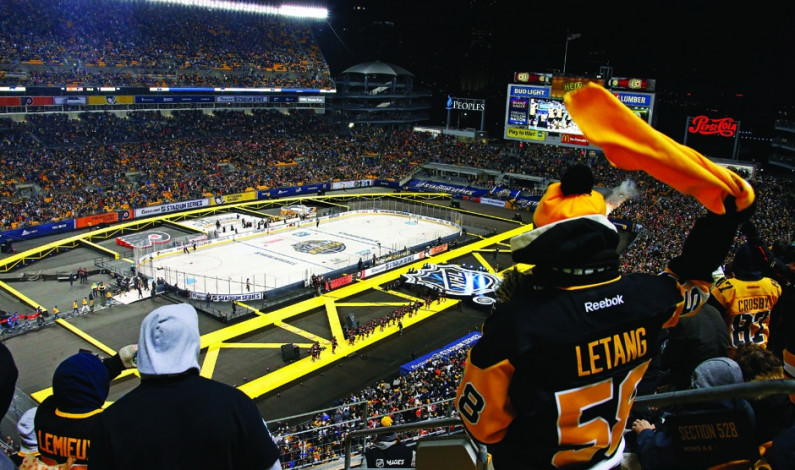 Stadium Series showcases beauty of Pittsburgh sports